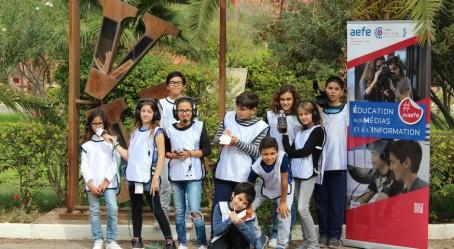 L'équipe des jeunes reporters de Marrakech