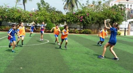 Match d'ultimate à Phnom Penh