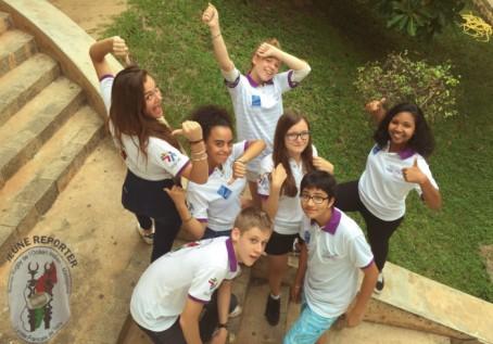 Jeunes reporters du Lycée français de Tananarive