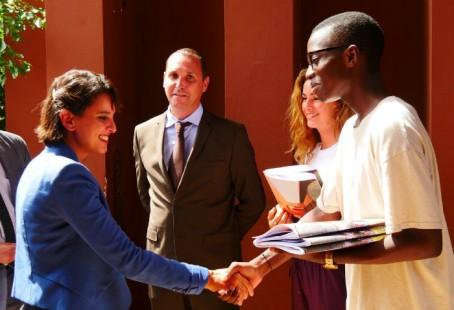 Salutations chaleureuses au lycée Jean-Mermoz