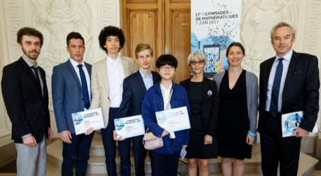 Mathématiques : la délégation AEFE à la remise des prix