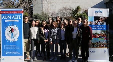Des participants au Lycée français de Madrid