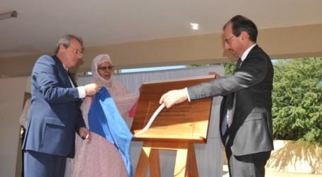 Dévoilement de la plaque à Nouakchott