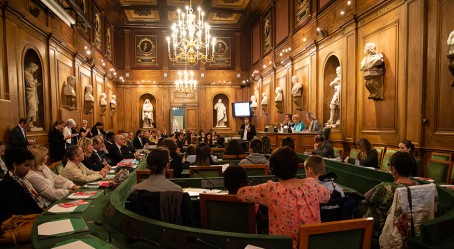 La grande salle des séances des académiciens