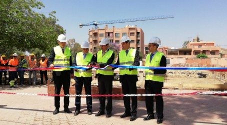Lancement du chantier à Marrakech