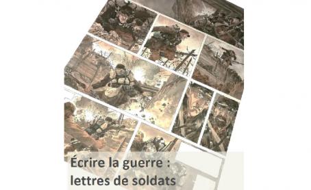 Lettres de soldats adaptées en BD à Vienne