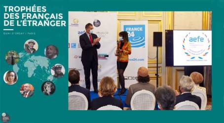 Le prix AEFE, l'un des Trophées des Français de l'étranger