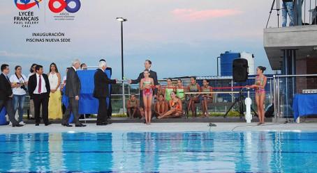 Inauguration de la piscine à Cali
