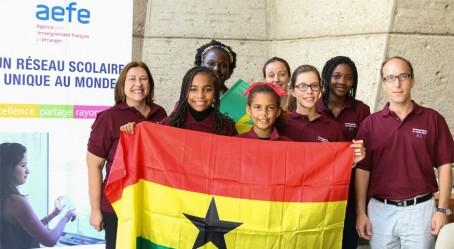 L'équipe de l'Afrique de l'Ouest