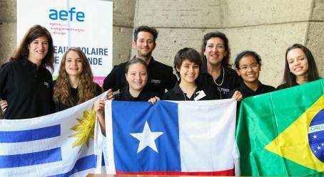 L'équipe de l'Amérique latine rythme Sud