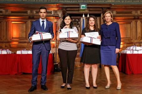 Les lauréats en arabe