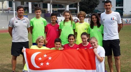 L'équipe de Singapour