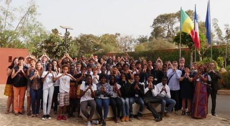 Soutien à la candidature de Paris 2024 depuis Dakar