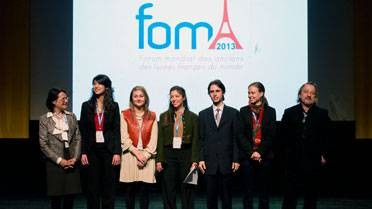 FOMA 2013 : membres du bureau de l'ALFM