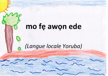 """J'aime les langues"" en langue yoruba"