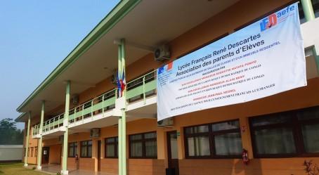 Nouveau bâtiment du lycée français René-Descartes
