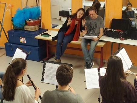 """Atelier """"instruments à vent"""""""