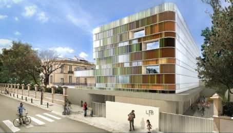 La nouvelle école maternelle à Barcelone (maquette)