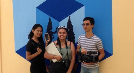 L'équipe JRI AEFE du lycée de Phnom Penh