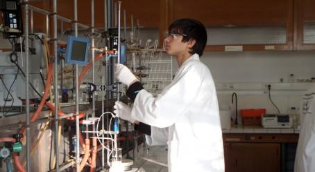 Youssef au laboratoire