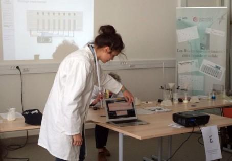 Agnès Totschnig pendant la présentation