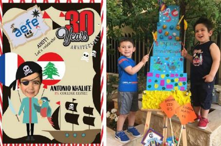 Illustration et installation au Liban
