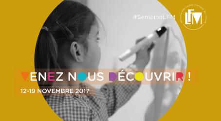 """#SemaineLFM : visuel """"école maternelle"""""""