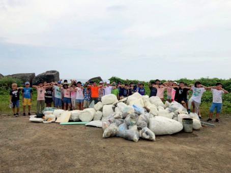 Nettoyage de plages à Taipei