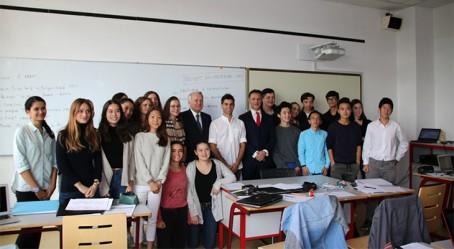 En classe à Shanghai