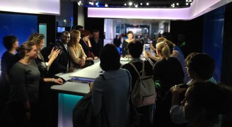 Visite de France Médias Monde