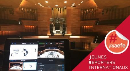 La régie des JRI dans l'Auditorium