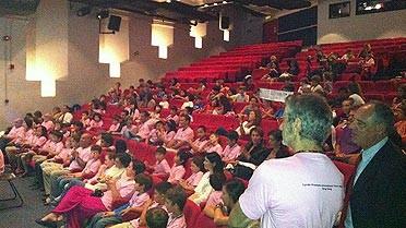 Photo : vue du public