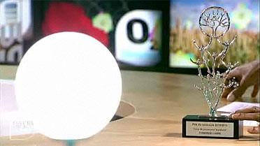 Le trophée du premier prix