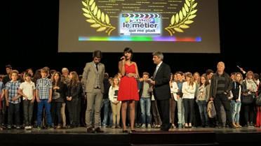 """Llona, Clap de bronze pour son film """"Les artisans de la lumière"""""""